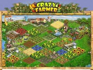 Eine große Farm bei Farmerama